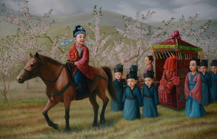 Новая одежда императора - свадебный марш. Автор: Zhao Limin.