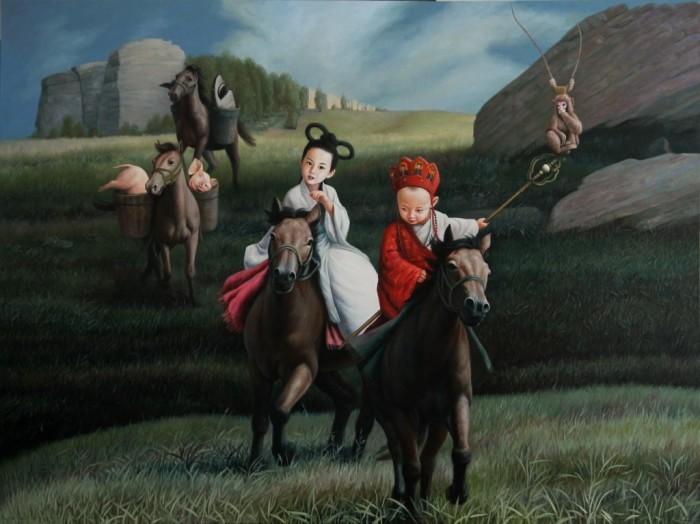 Путешествие на Запад. Автор: Zhao Limin.
