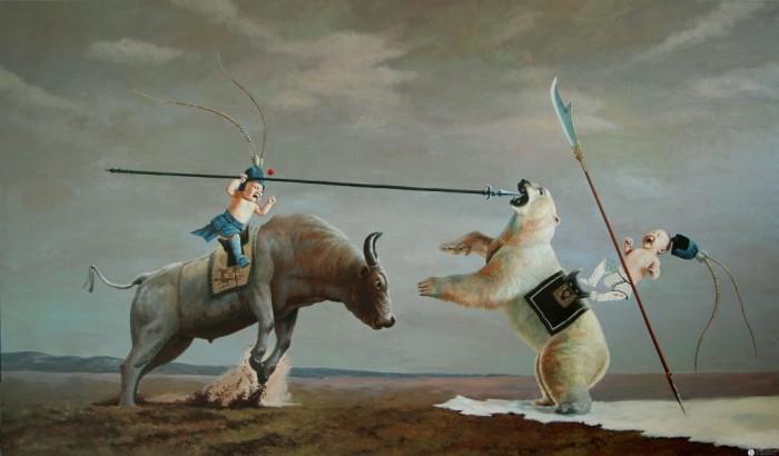 Легенды XXI столетия. Автор: Zhao Limin.