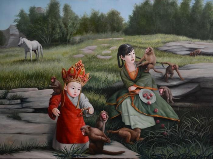 Путешествие на Запад 2. Автор: Zhao Limin.
