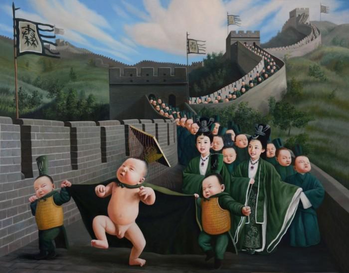 Императорская процессия. Автор: Zhao Limin.
