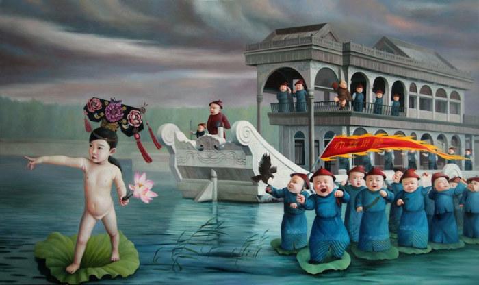 Летний дворец. Автор: Zhao Limin.