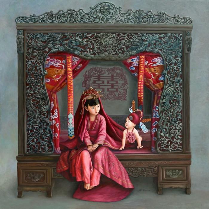 Свадебная палата. Автор: Zhao Limin.