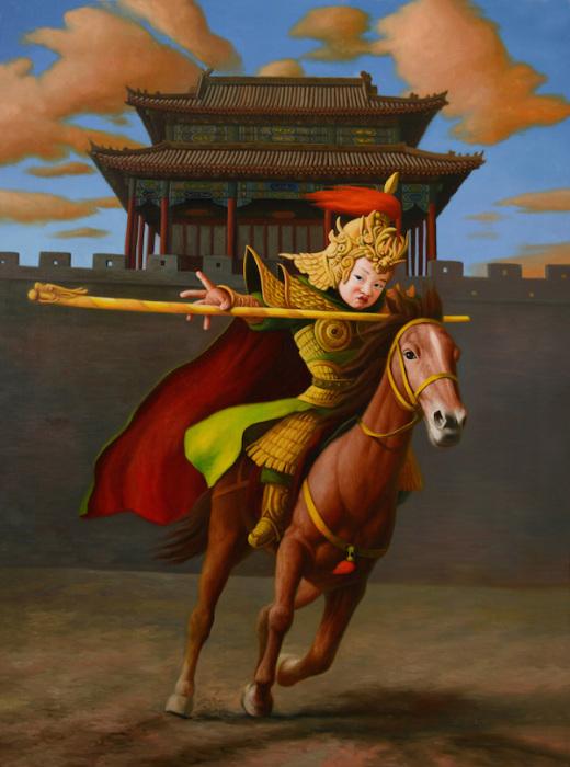 Император на лошади. Автор: Zhao Limin.