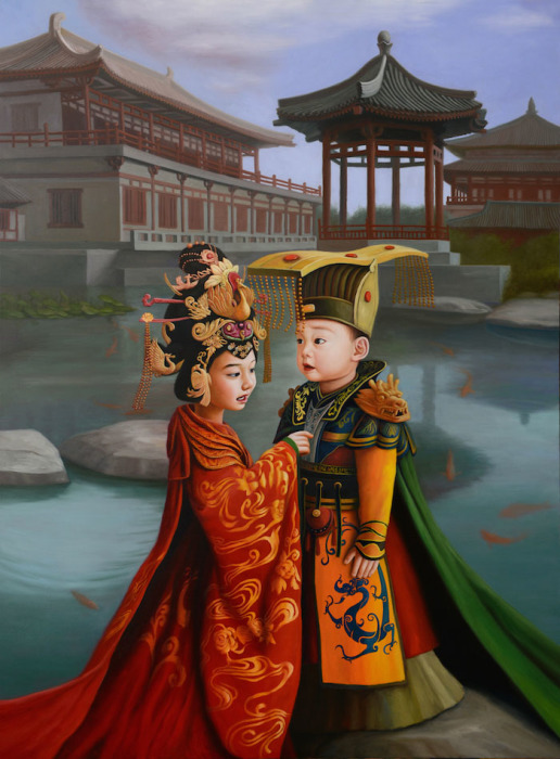 Император и императрица. Автор: Zhao Limin.