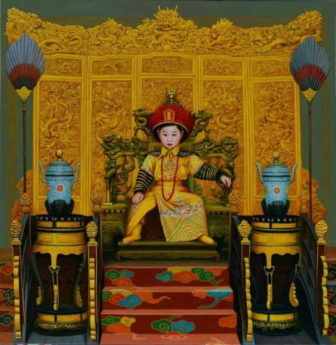 Принц небес. Автор: Zhao Limin.