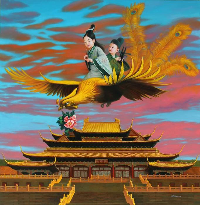 Легенды феникса. Автор: Zhao Limin.