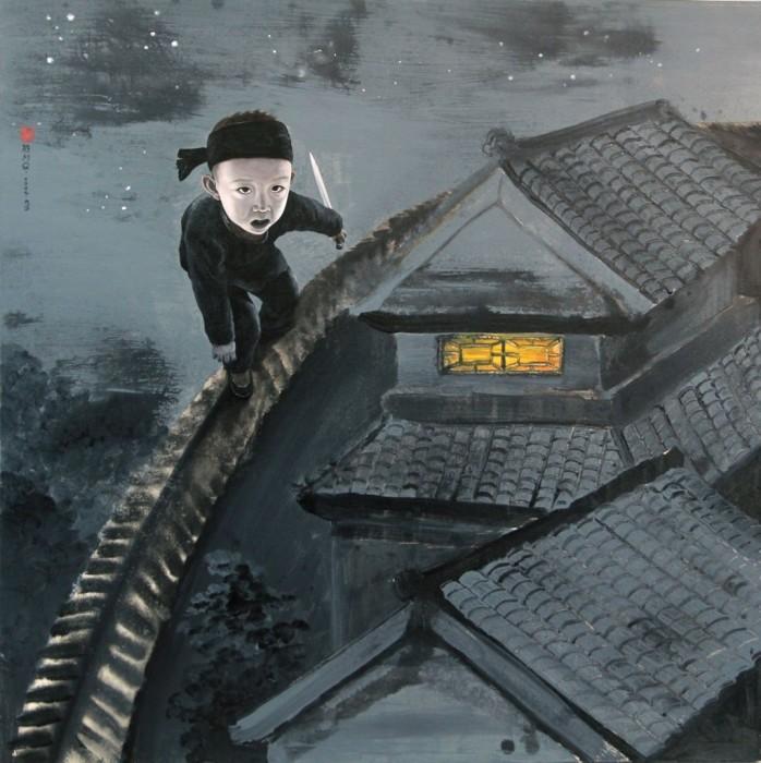 Робин Гуд. Автор: Zhao Limin.