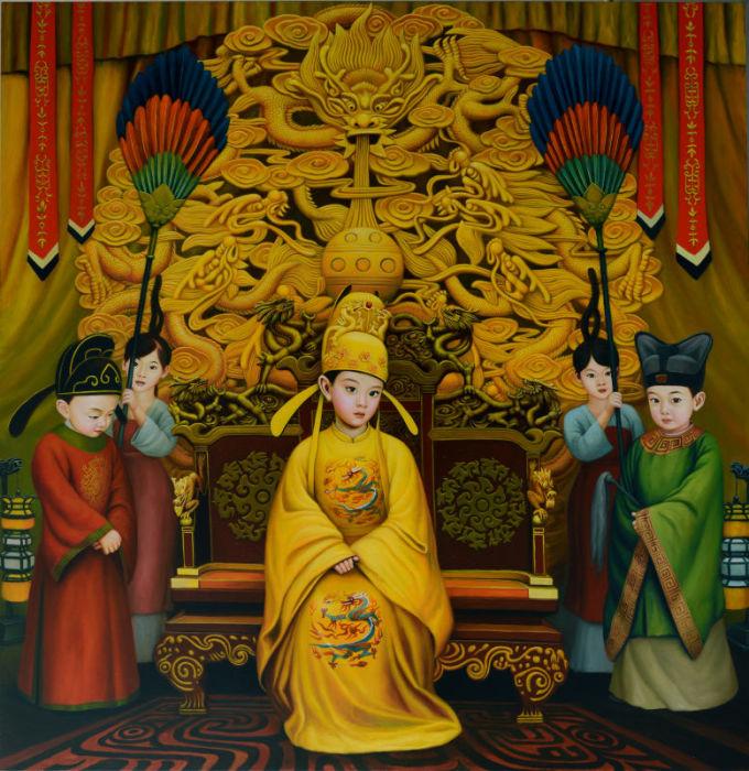 В лучших традициях Поднебесной: Яркие картины о жизни маленьких императоров, императриц и народных героев