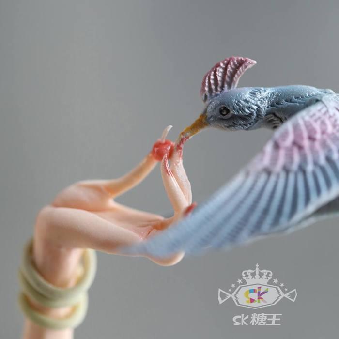 Колибри. Автор: Zhou Yi.