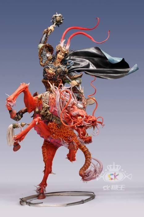 Красный дракон. Автор: Zhou Yi.