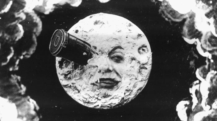 Кадр из фильма Путешествие на Луну.