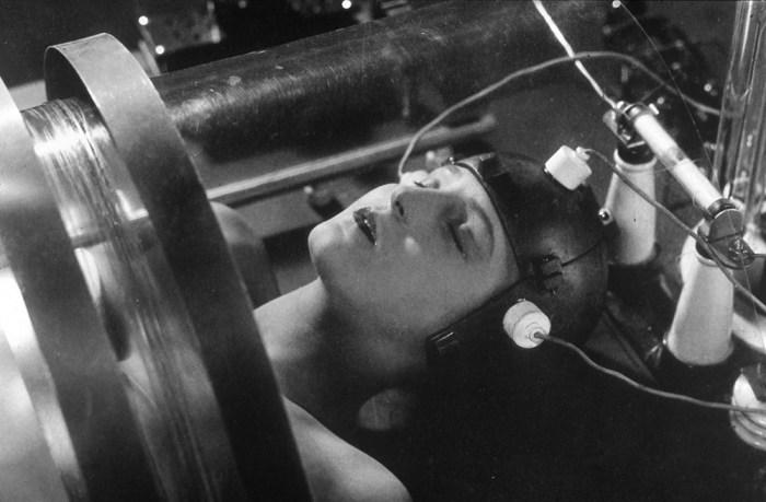 Кадр из фильма Метрополис.