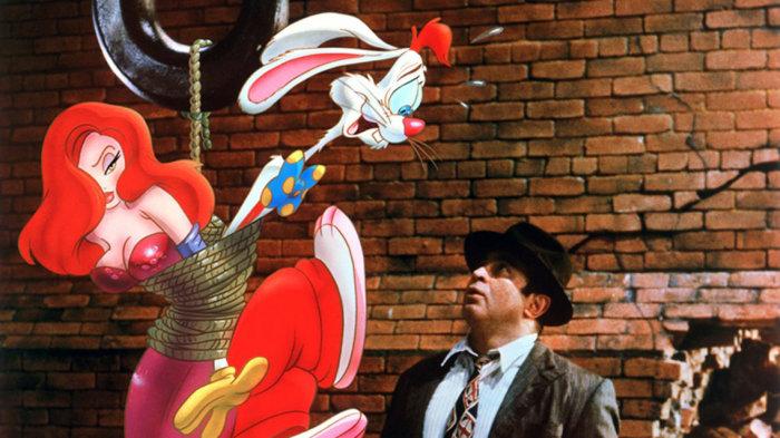 Кадр из фильма Кто подставил кролика Роджера?
