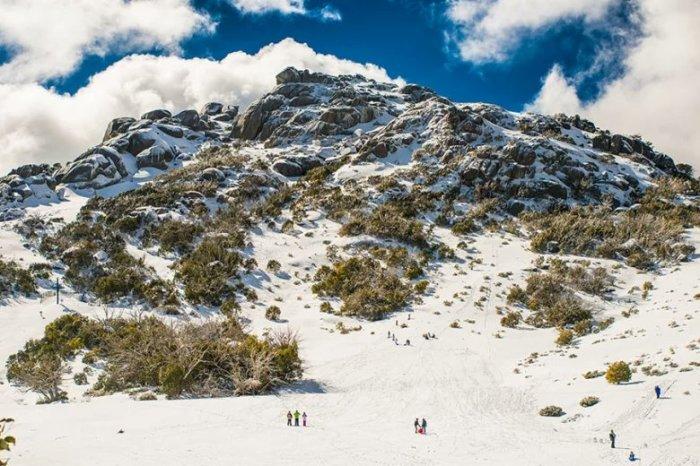 Австралийский горнолыжный курорт. \ Фото: twitter.com.