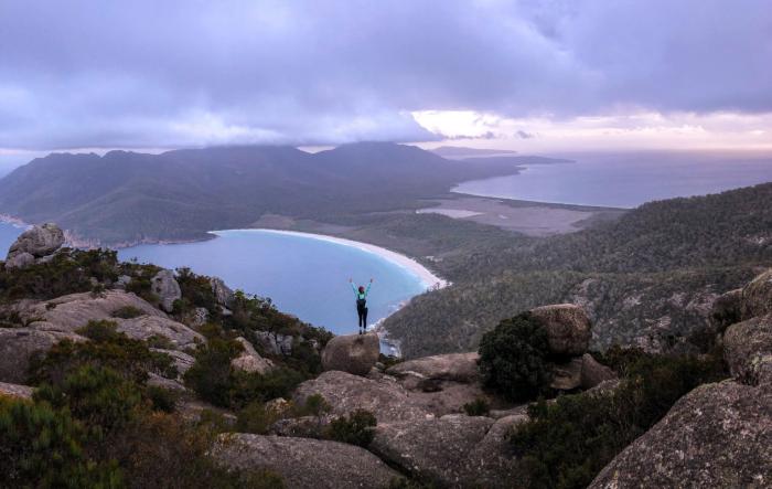 Остров Тасмания. \ Фото: leslietrvl.com.