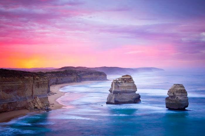 Великая Океанская Дорога. \ Фото: photobox.co.nz.