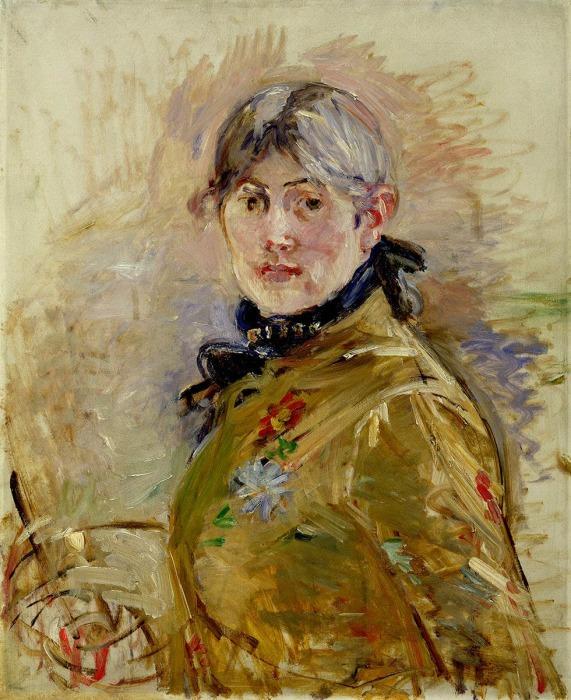 Автопортрет у мольберта, 1885 год. \ Фото: google.com.