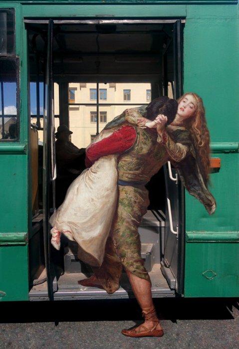 Середина лета, Киев -снова несколько историй о любви и городском транспорте. Автор: Алексей Кондаков.