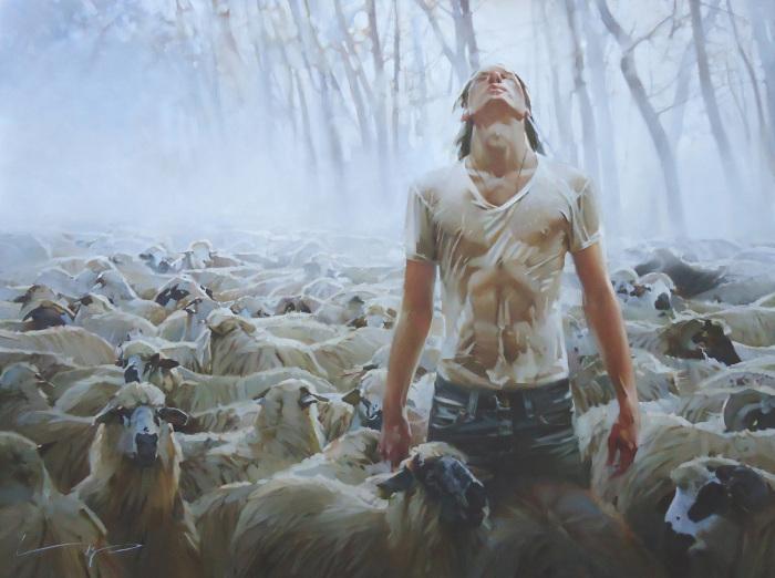 Пастырь. Автор: Алексей Чернигин.