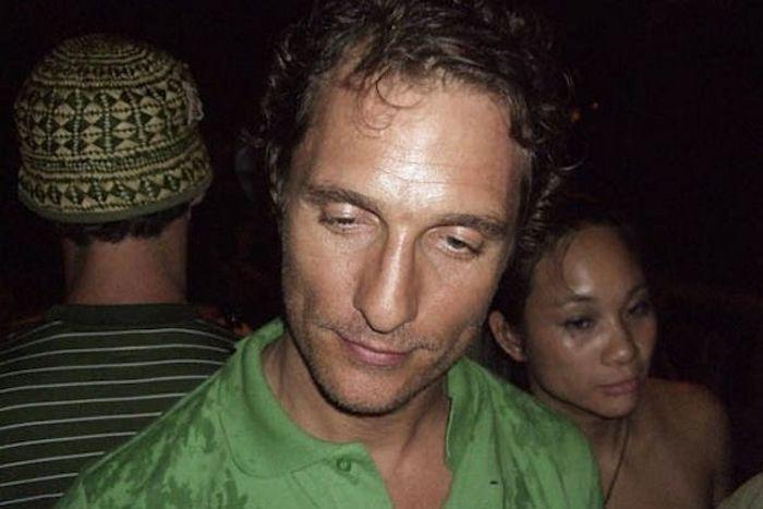 Пьяный проказник Мэттью.