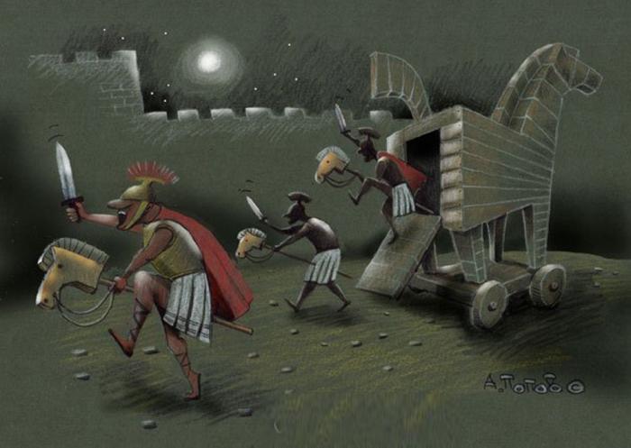 Троянские кони. Автор: Андрей Попов.