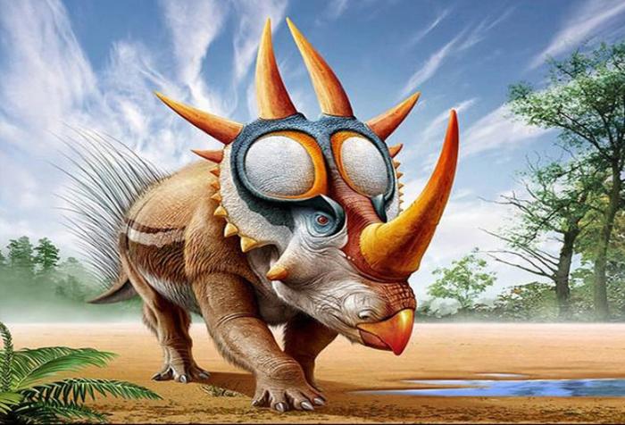 Живые иллюстрации обитателей палеозойской эры.