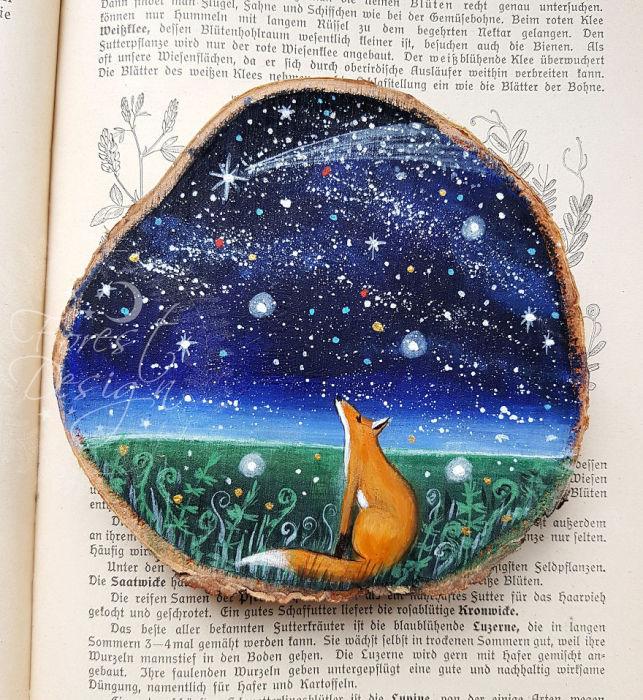 Глядя на звёзды. Автор: Анна.