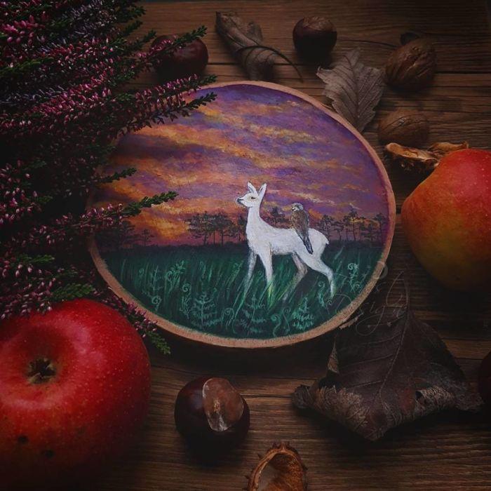 Приключение белого оленёнка. Автор: Анна.