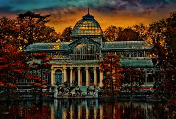 Хрустальный Дворец. Мадрид, Испания. Автор фото: Yara GB.