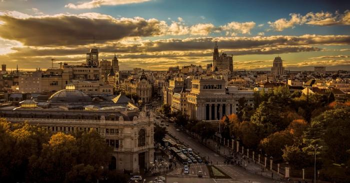 Мадрид в сумерках. Автор фото: Pedro Garcia.