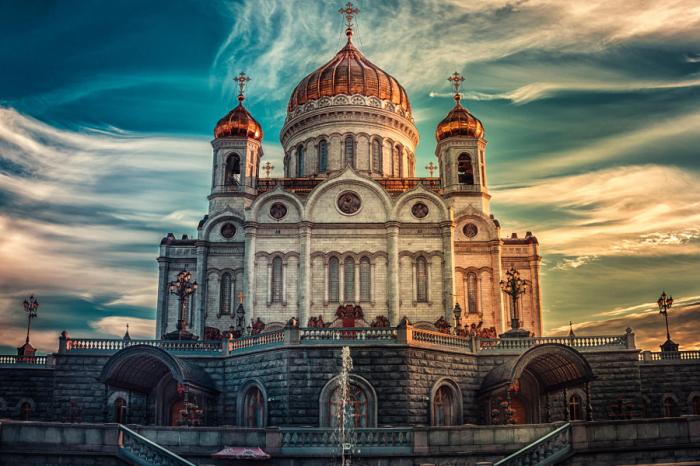 Храм Христа Спасителя. Автор фото: Andrew Vasiliev.