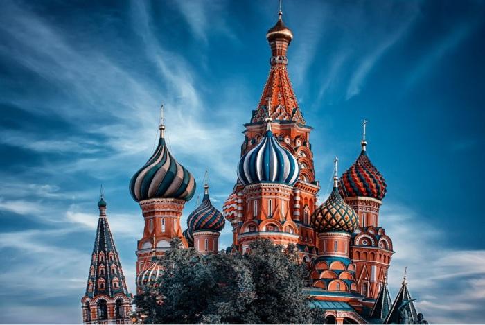 Собор Василия Блаженного. Автор фото: Andrew Vasiliev.