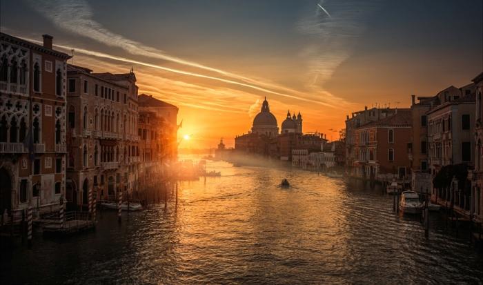 Венеция. Навстречу солнцу. Автор фото: Guerel Sahin.