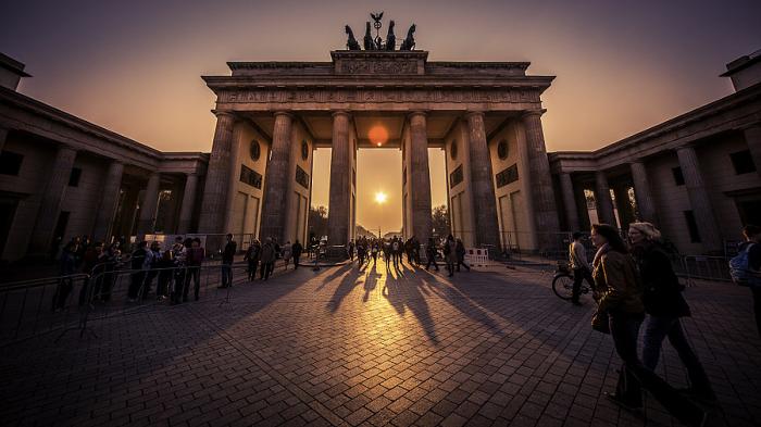 Бранденбургские ворота. Автор фото: Chad Higgins.