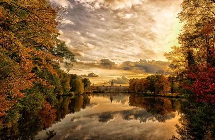 Берлин. Германия. Золотой октябрь. Автор фото: Dietmar Rogacki.