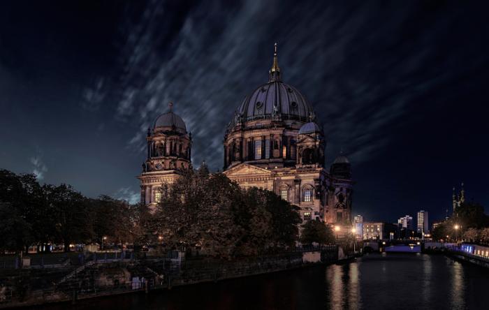 Берлинский кафедральный собор. Автор фото: Vic Perri.