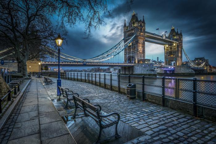 Рано утром в Лондоне. Автор фото: Shooting Mad.