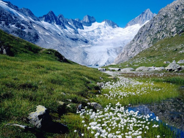 Незабываемые просторы Швейцарии.