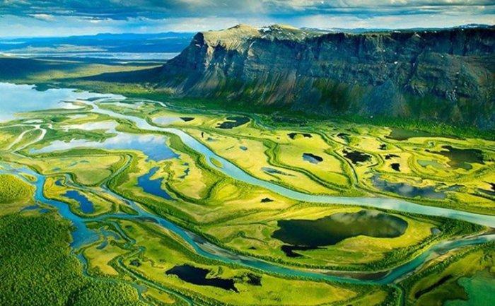 Сарек Национальный парк. Швеция.