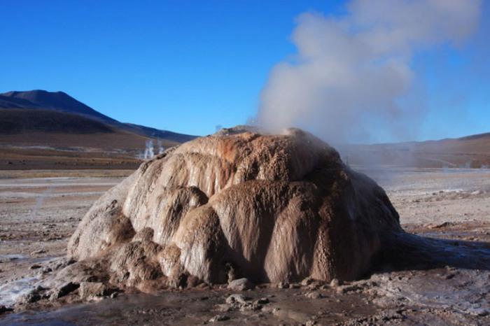Гейзеры в пустыне Атакама.