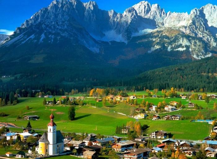 Отдых в Австрии.