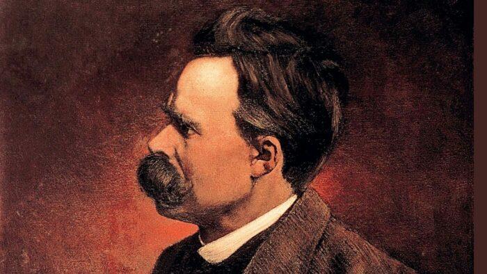 Портрет Фридриха Ницше, который во многом вдохновил мировоззрение Модильяни. \ Фото: homonovus.es.