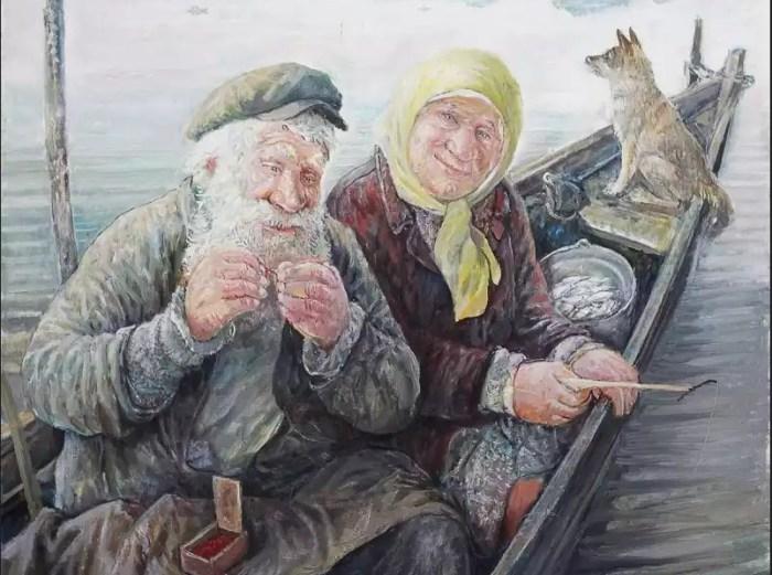 Жизненные картины Леонида Баранова.