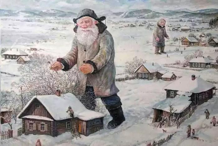 Скоро весна, надо скворечники поправить. Автор: Леонид Баранов.