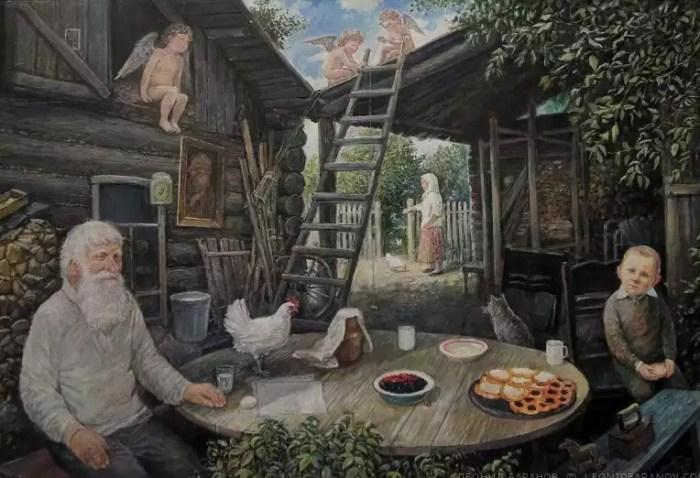 Ангелы живут на крыше. Автор: Леонид Баранов.