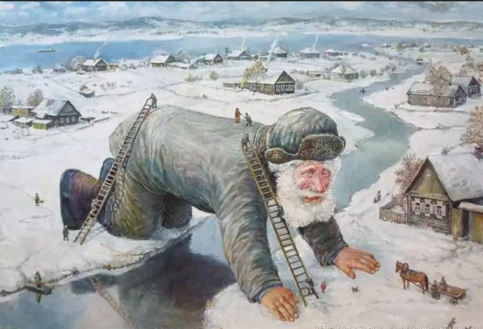 Пока реки на замёрзли. Автор: Леонид Баранов.