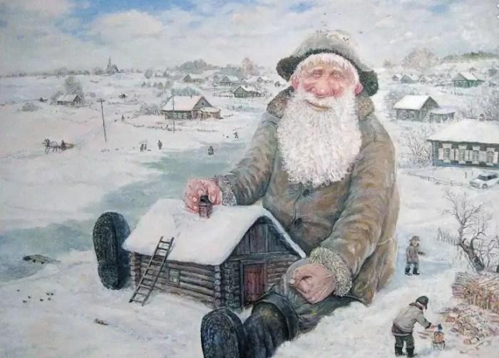 Памяти деда Гули. Автор: Леонид Баранов.