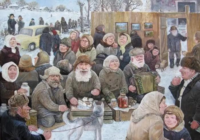Год собаки. Автор: Леонид Баранов.