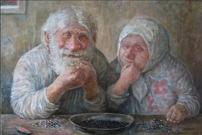 Семечки. Автор: Леонид Баранов.